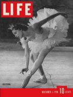 Life Magazine, December 5, 1938 - Ballerina