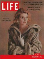 Life Magazine, December 5, 1955 - Man-made mink, fur