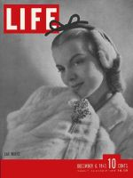 Life Magazine, December 6, 1943 - Earmuffs