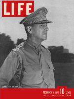 Life Magazine, December 8, 1941 - General MacArthur