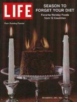 Life Magazine, December 8, 1961 - Holiday treats