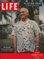 Life Magazine, December 10, 1951 - Truman's wardrobe