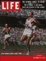 Life Magazine, December 10, 1956 - Olympian Morrow