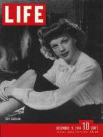 Life Magazine, December 11, 1944 - Judy Garland