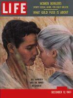 Life Magazine, December 12, 1960 - Jill Haworth and Sal Mineo