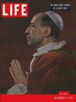 Life Magazine, December 13, 1954 - Pope Pius XII