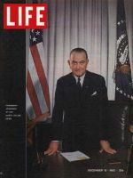 Life Magazine, December 13, 1963 - President Johnson