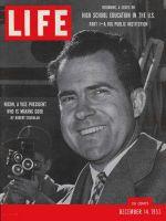 Life Magazine, December 14, 1953 - Vice-President Richard Nixon