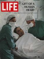 Life Magazine, December 15, 1967 - Human heart recipient Joseph Washkansky