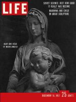 Life Magazine, December 16, 1957 - Great sculptures
