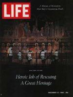 Life Magazine, December 16, 1966 - Restoring the Last Supper, Art