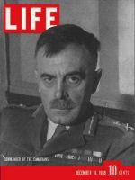 Life Magazine, December 18, 1939 - Canadian general