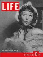 Life Magazine, December 19, 1938 - Mary Martin