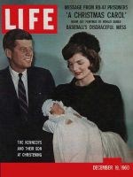 Life Magazine, December 19, 1960 - John F. Kennedy Jr.'s christening