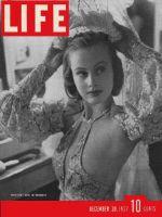 Life Magazine, December 20, 1937 - Hope Chandler