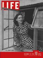 Life Magazine, December 20, 1943 - POW's wife