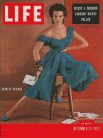 Life Magazine, December 21, 1953 - Canasta pajamas