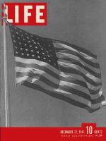 Life Magazine, December 22, 1941 - U.S. goes to war, American Flag