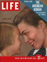 Life Magazine, December 24, 1956 - American woman