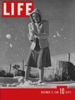Life Magazine, December 25, 1939 - Skating fashions