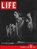 Life Magazine, December 26, 1938 - Yuletide pageant