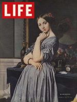 Life Magazine, December 27, 1937 - Ingres portrait