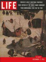 Life Magazine, December 27, 1954 - Brueghel's art