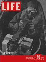 Life Magazine, December 29, 1941 - Aerial gunner