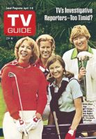 TV Guide, April 2, 1977 - Dinah Shore and golfers