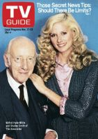 TV Guide, November 17, 1979 - Wilfrid Hyde-White and Shelley Smith of 'The Associates'