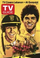 TV Guide, February 3, 1979 - Larry Wilcox and Erik Estrada of 'Chips'