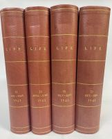 1943 Complete Year - All 52 Professionally Bound Issues in 4 Volumes -  with indexes
