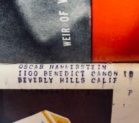 Oscar Hammerstein  of