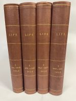 1938 Complete Year - All 52 Professionally Bound Issues in 4 Volumes - with indexes