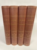 1939 Complete Year - All 52 Professionally Bound Issues in 4 Volumes -  with indexes