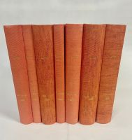 1951 Complete Year - All 53 Professionally Bound Issues in 7 Volumes -  with indexes