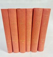 1952 Complete Year - All 52 Professionally Bound Issues in 6 Volumes -  with indexes