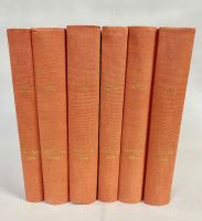 1954 Complete Year - All 52 Professionally Bound Issues in 6 Volumes -  with indexes