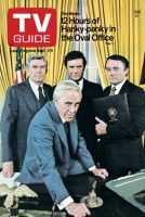 TV Guide, September 3, 1977 - 12 Hours of Hanky-panky in the Oval Office