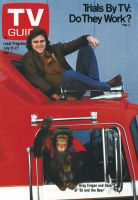 TV Guide, July 21, 1979 - Greg Evigan and Sam of 'BJ and the Bear,