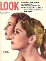 Look Magazine, January 6, 1948 - Tale of Two Models