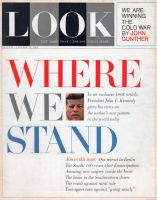 Look Magazine, January 15, 1963 - President John F. Kennedy, Where We Stand