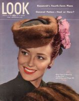 Look Magazine, January 23, 1945 - New fashions featuring fur
