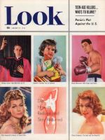 Look Magazine, January 27, 1953 - Bishop Sheen, Little girl with cancer