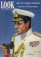 Look Magazine, February 8, 1944 - Lord Louis Mountbatten by Edmundson