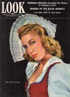 Look Magazine, March 9, 1943 - Woman in Dutch outfit