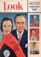 Look Magazine, March 11, 1952 - Vivien Leigh and Fredric March