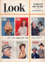 Look Magazine, March 25, 1952 - Six former LOOK Magazine covers from September 24, 1940