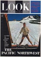 Look Magazine, March 27, 1962 - Summer skiing on Mount Hood