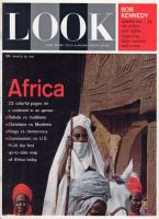 Look Magazine, March 28, 1961 - Emir of Kano riding a horse